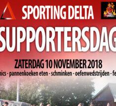 Supportersdag – zaterdag 10 november