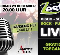 Live muziek bij Sporting Delta