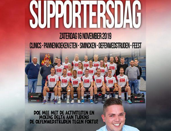 Supportersdag 16 november
